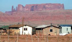 Poverty indian reservation