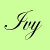 Ivy signature
